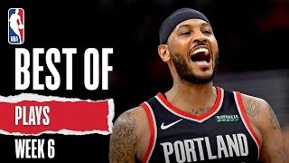 NBA's Best Plays From Week 6 | 2019-20 Season