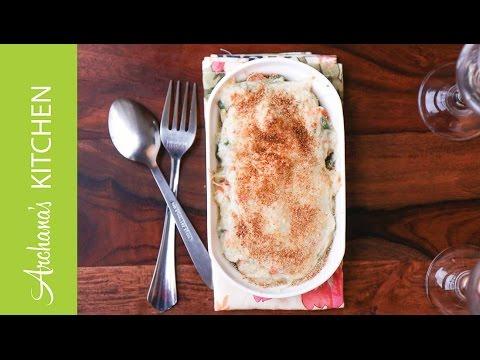 Vegetable Au Augratin Recipe by Archana's Kitchen