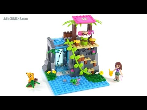LEGO Friends 41033 Jungle Falls Rescue set review!