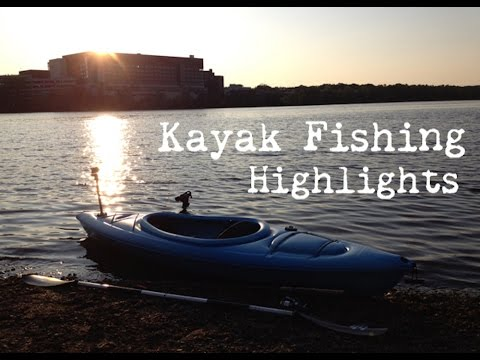 2014 Minnesota Kayak Fishing Highlights Youtube