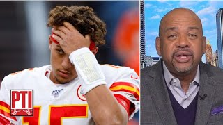 Stop freaking out about Patrick Mahomes' injury, people! - Michael Wilbon | Pardon the Interruption