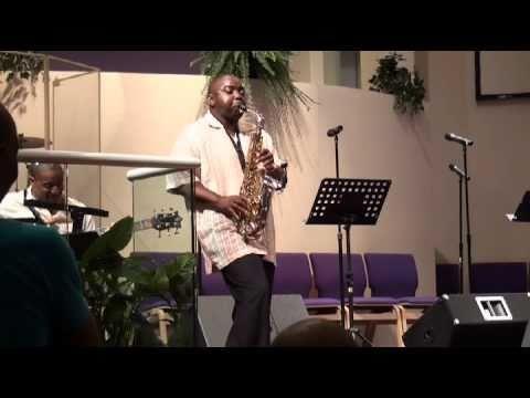 Tony Smith at the One In The Son Bermuda Gospel Fest