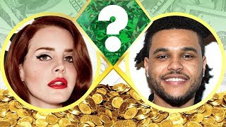 WHO'S RICHER? - Lana Del Rey or The Weeknd? - Net Worth Revealed! (2017)