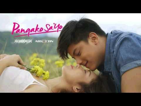 Pangako Sa'yo (remake) - Vina Morales (ost official Soundtrack) video