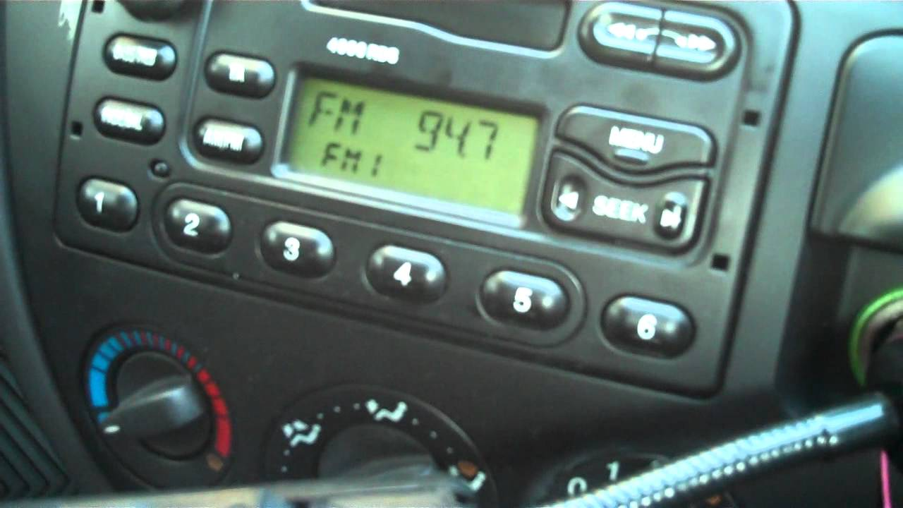 Problem With Car Radio Now Fixed Youtube