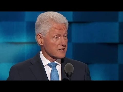 Bill Clinton: I was speechless when I met Hillary
