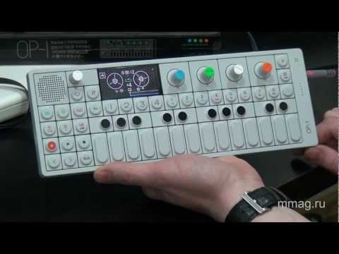 mmag.ru: Teenage Engineering OP-1 video review