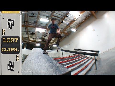 Jimmy Carlin Lost Skateboarding Clips