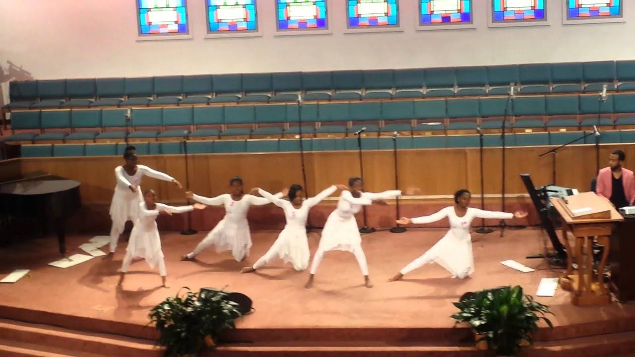 Anointed Praise Dancers Of First Baptist Church Youtube