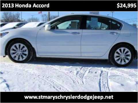 2013 Honda Accord Used Cars Saint Marys OH