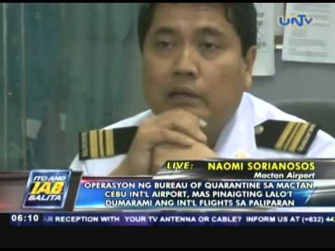 Operasyon ng Bureau of Quarantine sa Mactan-Cebu International Airport, mas pinaigting