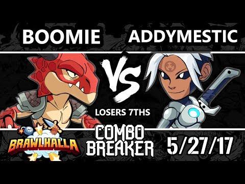 Combo Breaker 2017 Brawlhalla - DNL | Boomie (Ragnir) vs [R]eason | Addymestic (Val) - L7