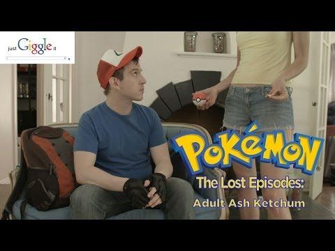 Lost Pokemon Episode - Adult Ash Ketchum video
