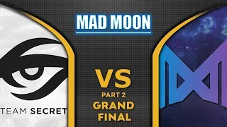 Nigma vs Secret Grand Final WePlay! Mad Moon 2020 Highlights Dota 2 - [Part 2]
