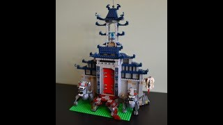 Lego Ninjago Movie 70617 Temple of the Ultimate Ultimate Weapon - Lego Speed Build (Stop Motion)