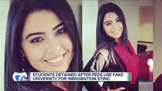 Students detained after feds use fake university for immigration sting