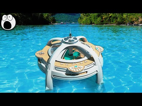 10 Most FUTURISTIC Yachts in development