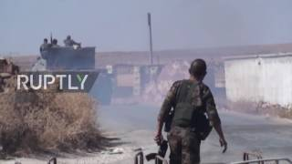 Syria: Government forces make further advances in Hama