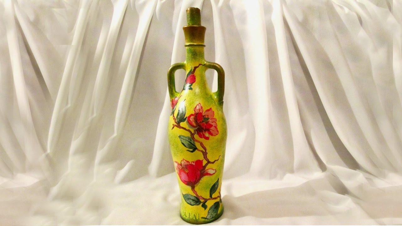 Декорирование бутылки своими руками фото 15