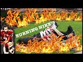 BURNING NIKE SHOES ON FIRE BECAUSE OF COLIN KAEPERNICK SNEAKER DEAL #JUSTDOIT