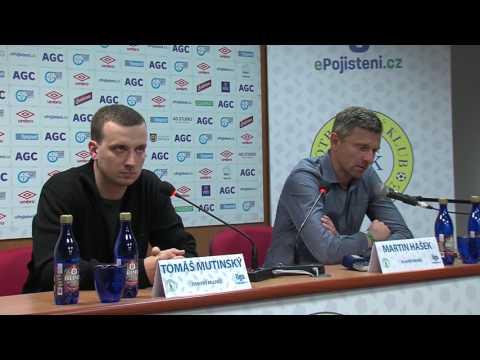 Tisková konference hostujícího týmu po zápase Teplice - Bohemians (14.5.2017)