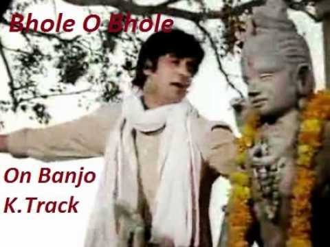Bhole O Bhole-kishore Da-instrumental Cover On Banjo bulbul Tarang k.track By Vinay M Kantak video