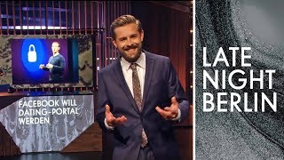 Facebook als Dating-Portal? Deutschland-Update mit Klaas! | Late Night Berlin | ProSieben