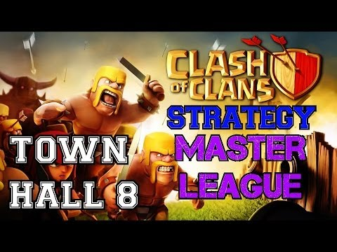 Clash of Clans: Town Hall 8 Master League!   Let's Review the OP HR-HS Raid Strategy