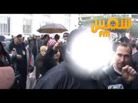 image vid�o أب الطفلة المغتصبة يفقد أعصابه
