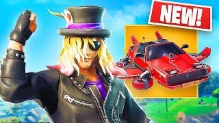 NEW Epic Stage Slayer Skin & LEGENDARY Flying Car! *Pro Fortnite Player* // 1,450 Wins // (Fortnite)