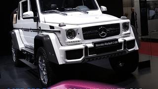 Mercedes-Maybach G 650 Landaulet Cabriolet en direct du Salon de Genève 2017