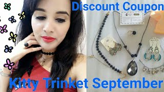 Kitty's Trinket Sept | Office Wear Jewellery Edition | Discount Code | Giveaway Open - No Rules ❤