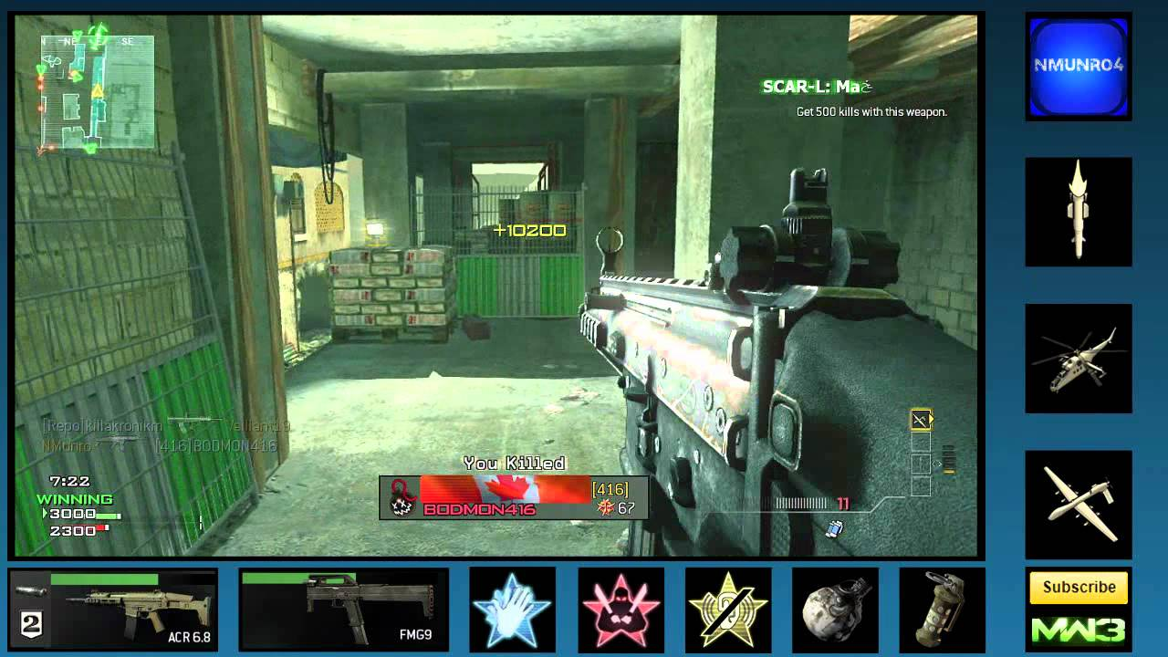 Shotgun Mw3 Tips Mw3 Pro Tip Extended Mags