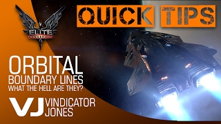 Orbital Boundary Lines in Elite Dangerous