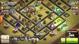 2 golems +15 witches clash of clans