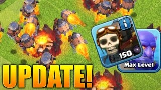 Clash of Clans - ROCKETEER INFO! New Troop UPDATE To CoC! Rocketeer New Clash of Clans Update 2016!