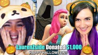I Donated $100 EVERY TIME SHE KILLED A SIM