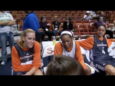 Jia Perkins and Katie Douglas Joking Around Video