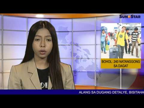 Bohol:Barko naaberya, 240 natanggong sa dagat