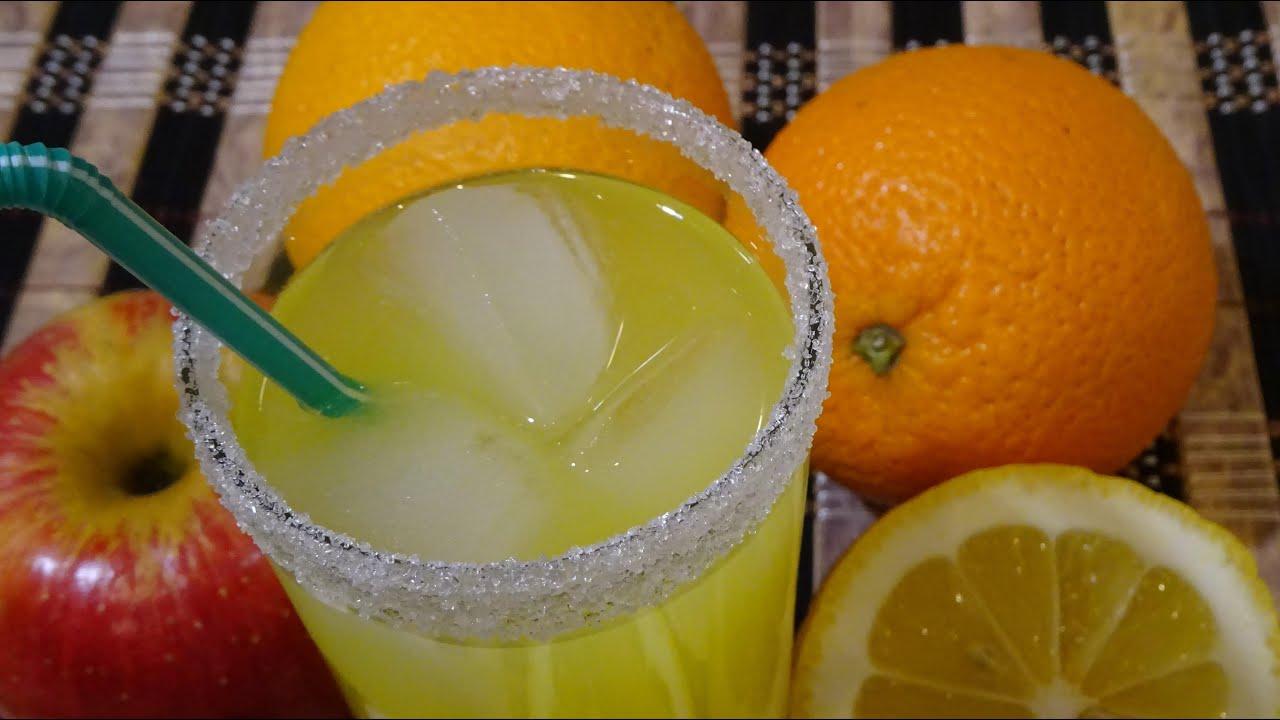Как сделать напиток из апельсинов в домашних условиях 527