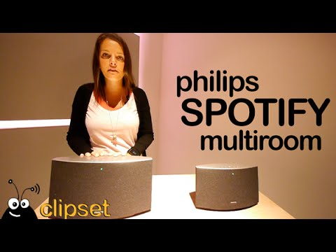 Philips Spotify Multiroom preview IFA Videorama