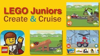 lego juniors create cruise. funny game for kids!