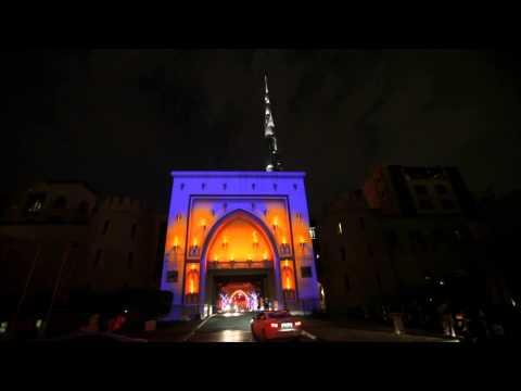 Dubai Festival of Lights 2014 - Vertigo