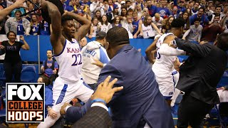 Kansas-Kansas State Brawl: Steve Lavin & Rob Stone break it down | FOX COLLEGE HOOPS