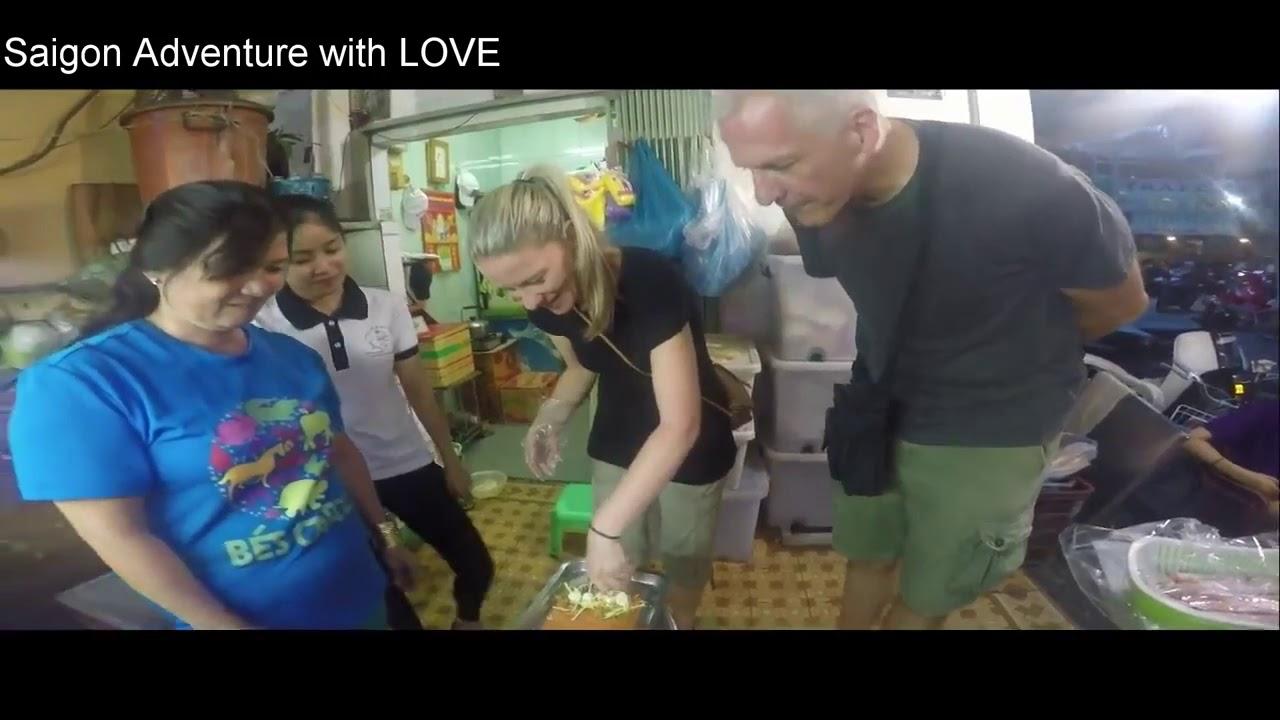 Sai Gon Street Food Tour by Motorbike with Saigon Adventure