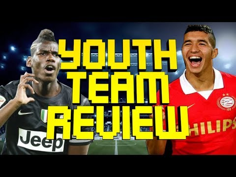 FIFA 14 Career Mode - FULL YOUTH TEAM REVIEW - Best Young Players Team