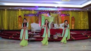 Afghan Jalebi |Femy & Shaon's Holud Dance Performance|