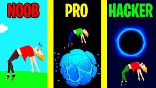 NOOB vs PRO vs HACKER in Buddy Toss!