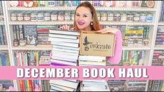 December Book Haul + OwlCrate Unboxing