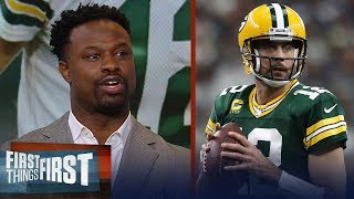 Bart Scott makes the case for Packers getting into a groove with Rodgers | NFL | FIRST THINGS FIRST